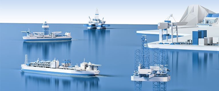 Offshore Structures Drawings of Offshore Subsea